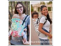 Price lowered... Tula toddler baby front back carrier
