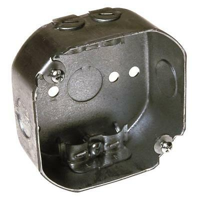 New Lot 6 Raco 146 Metal 4 Octagon Electrical Box With Clamps 6150056