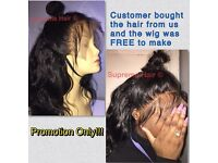 UNPROCESSED BRAZILIAN HAIR, Virgin REMY Hair, Lace Frontal, CUSTOMISE WIGS!!