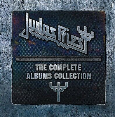 JUDAS PRIEST THE COMPLETE ALBUMS COLLECTION NEW 19 CD BOX SET NEW SEALED