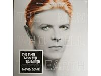 David Bowie - The Man Who Fell to Earth deluxe 2LP, 2CD And limited edition hardback book