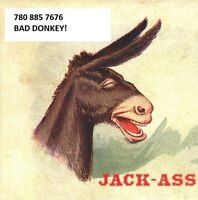 WWW.JACKASSCREDIT.CA ( BAD CREDIT??) WE WILL HELP! 780 885 7676