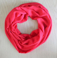 Handmade Infinity Scarf - CORAL PINK