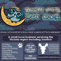 Sleepy Owls Pet Care  - accepting new clients