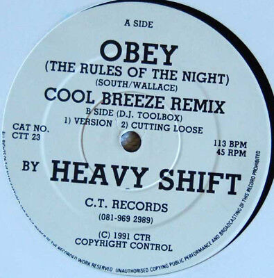 Heavyshift / Obey (The Rules Of The Night)