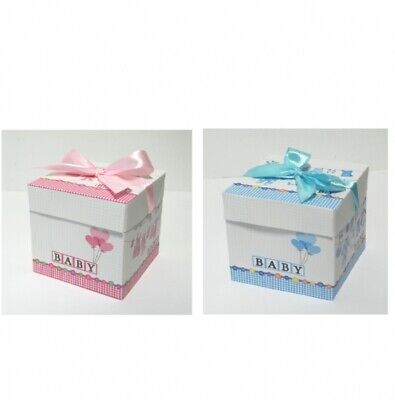 Geschenkschachtel Geschenkbox Baby GROß Taufe Geburt