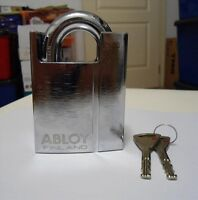 Abloy Protec2 PL 362 Shrouded Hardened Steel Padlock Motorcycle