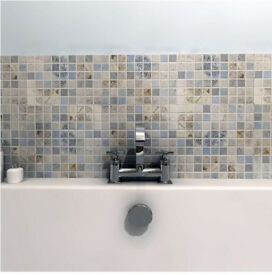 Beautiful Bath Tiles- 4.8x16 pack- Marine 30x30 - Mosque Pattern