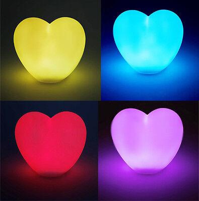 LED - Leuchte Herz mit autom. Farbwechsel Herzlicht Herzleuchte Lampe Licht