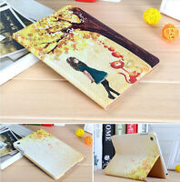 Brand new PU leather case for iPad mini 2~with cute cartoon