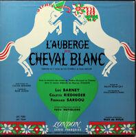 DISQUE VINYLE 33 AUBERGE CHEVAL BLANC
