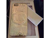 Gold Michael Kors iPhone 5/5s phone case