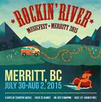 Rockin Riverfest 4 day general admission ticket