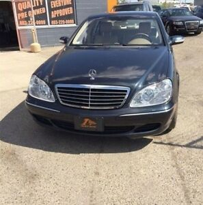 2003 Mercedes Benz S-Class S430 4MATIC  LOADED/ LEATHER/ NAV/ 1