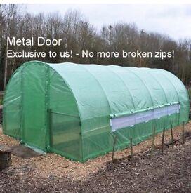 6 x 3m Polytunnel Greenhouse, galvanised 2016 Frame BNIB