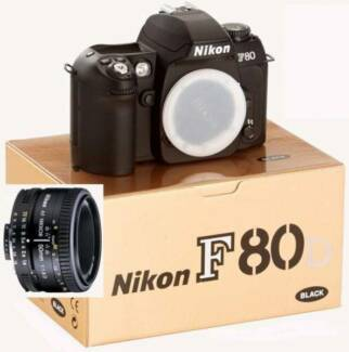 Nikon F80D film SLR camera + 50mm F1.8 D lens *BRAND NEW* Sydney City Inner Sydney Preview