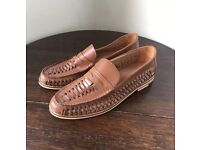 Topman Men's Loafers New Without Box Size 7 Leather Tan