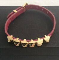 Michael Kors studded pyramid bracelet pink authentic