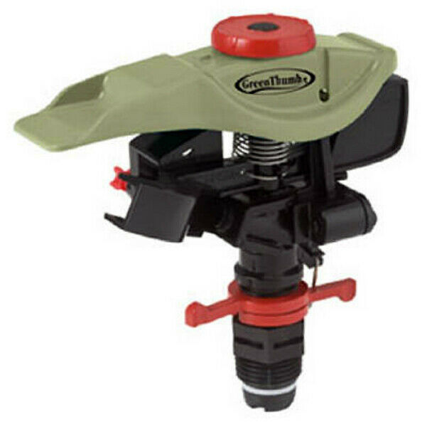 Green Thumb 193HGT Impulse Sprinkler Head, Coverage Up To 5800 Sq Ft