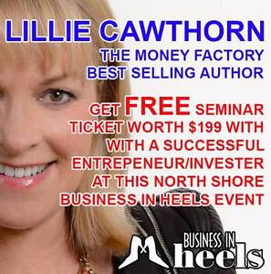 FREE TICKETS VALUED $199 WITH LILLIE CAWTHORN - THE MONEY FACTORY Crows Nest North Sydney Area Preview