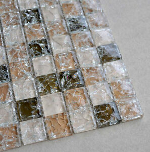 Crystal mosaic tile background wall puzzle sheet