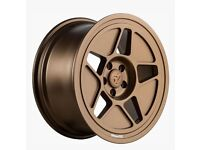 """19"""" Bronze Fifteen52 R43 wheels and tyres 5x100 for VW Audi Etc"""