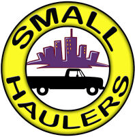 GENERAL MOVING SERVICES - SMALL HAULERS