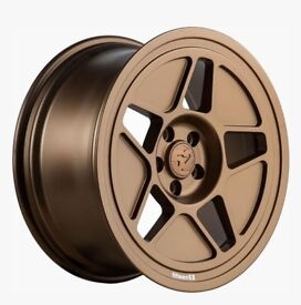 "19"" Bronze Fifteen52 R43 wheels and tyres 5x100 for VW Audi Etc"