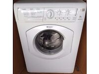Hotpoint washing machine 6kg load 1200 spin in good condition and fully working order