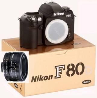 Nikon F80D film SLR camera + 50mm F1.8 D lens *BRAND NEW* Sydney City Inner Sydney Preview