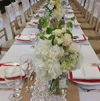 Linen Rental Packages available