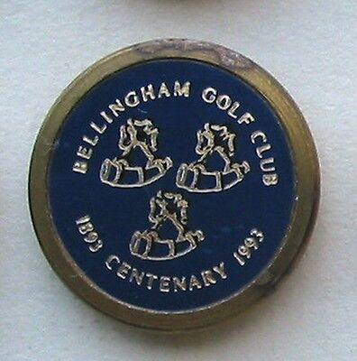 Golf club centenary ball markers are very popular with collectors - all the above are genuine.