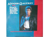 "ROGER DALTREY (THE WHO) 7 x 12"" SINGLES"