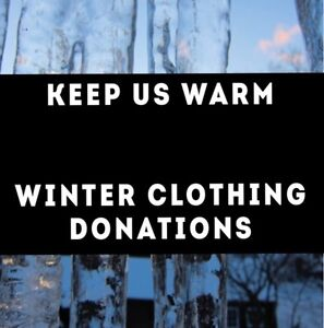 Keep Us Warm Winter Clothing Donations