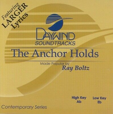 Ray Boltz - The Anchor Holds - Accompaniment / Performance Track - New