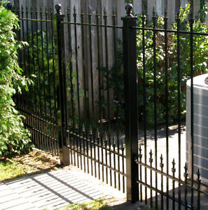 Wrought Iron Storm Doors & Wrought Iron Fences London Ontario image 4