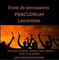 Session hivers 2017,  école de percussions, PERCUDRUM