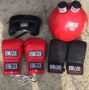 Boxing gloves and accessories