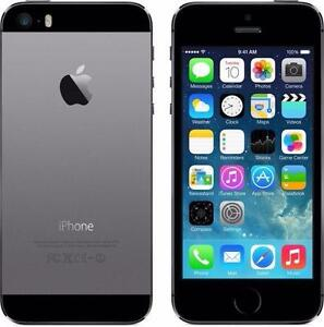 THE CELL SHOP has a Space Grey iPhone 5s 16gb with Bell or Virgin