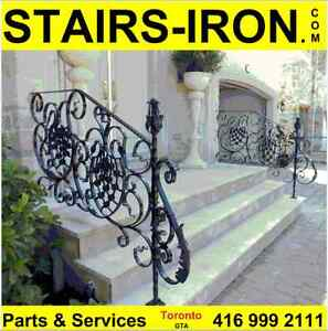 Toronto luxury building materials.Stair Parts Entry Door Systems