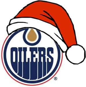 .........HARD COPY OILERS TICKETS FOR CHRISTMAS