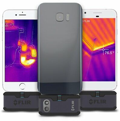 Flir One Pro Lt Android Usb-c Thermal Imaging Camera Attachment