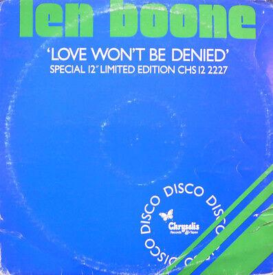 Len Boone - Love Won't Be Denied, 12