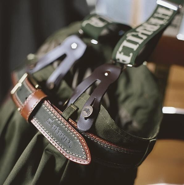 HARKILA CARL MAGNUS GREEN BRACES SHOOTING HUNTING COUNTRY STYLE CLOTHING NEW