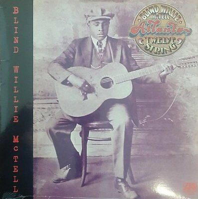 BLIND WILLIE MCTELL Atlanta Twelve String ATLANTIC LP SEALED Blues