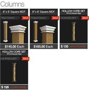 Column wrap kijiji free classifieds in ontario find a for Mdf square columns