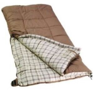 Sac couchage sleeping bag Coleman très chaud. Isolant thermique