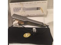 "Hair straighteners - T3 Bespoke Labs Wide Wet-Or-Dry 1 3/4"" flat iron"