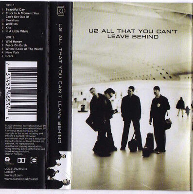 U2 - All That You Can't Leave Behind MC Tape Cassette Hungary Island gebraucht kaufen  Versand nach Germany