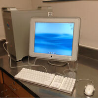 Apple G5 PowerMac, Apple Monitor, Apple Keyboard and Mouse